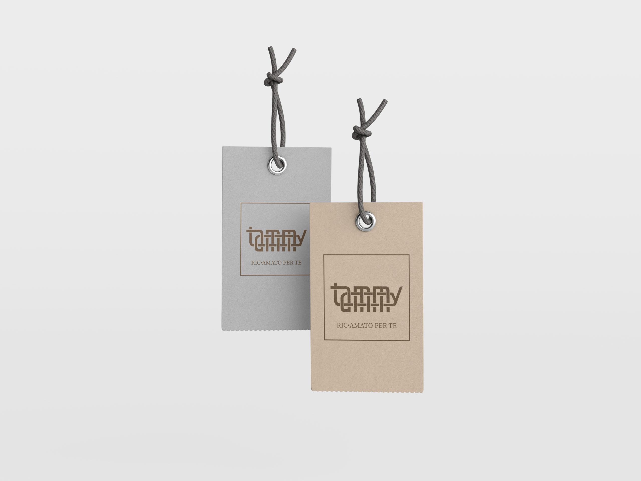 Project work: Logo design Tammy ricami (2)