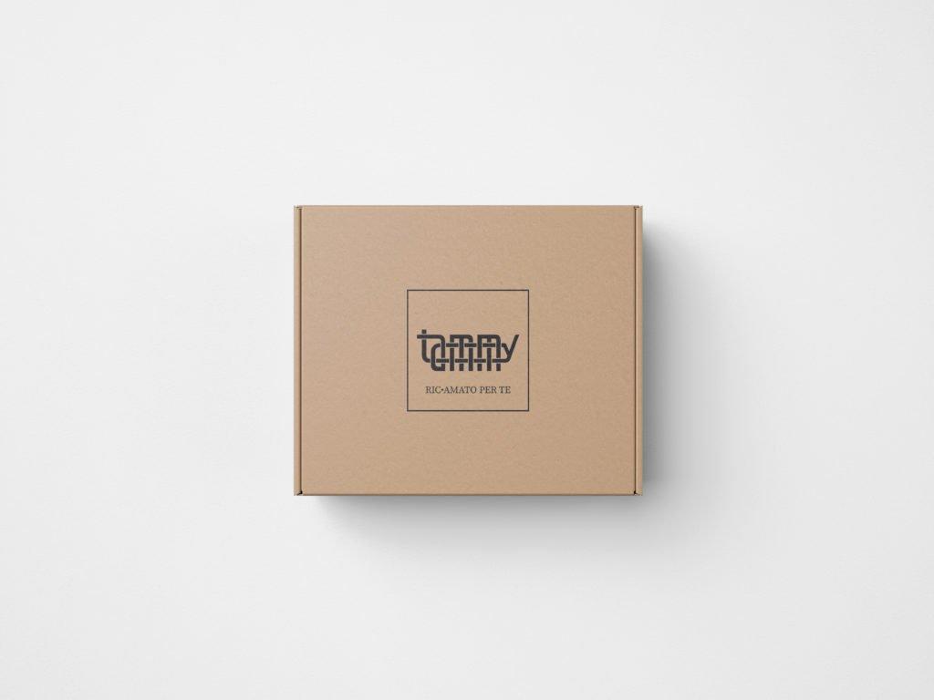 Tammy Mockup Top Box view