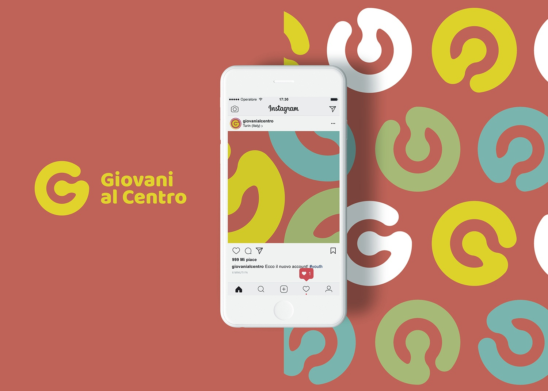 Project work: Logo design Giovani al Centro Torino (3)