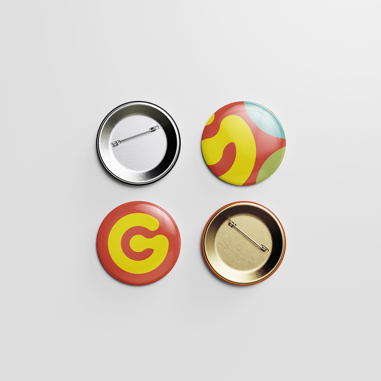 Pin Button Mockup 4